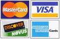 We accept all major credit cards - David Yowell Construction